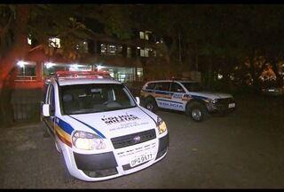 Dois são presos suspeitos de tentar assaltar uma PM em BH - Suspeitos têm 19 e 20 anos; o ferido foi levado para o Hospital João XXIII.