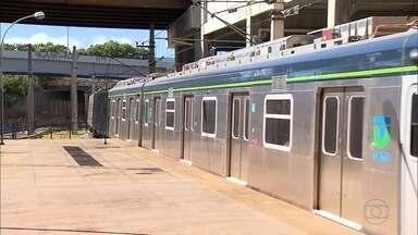 Governo de MG quer administração do metrô para agilizar melhorias - Pedido ainda está sendo analisado pelo governo federal.