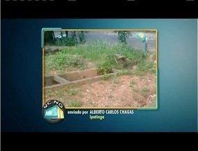 VC no MG: Telespectador de Ipatinga denuncia situação de rua - Rua Canãa precisa de reparos no Bairro Profeta.