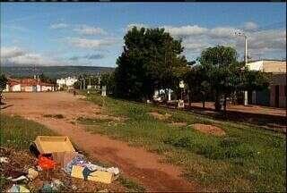 Comunidade do Crato sofre com falta de infraestrutura e falta de saneamento básico - Moradores reclamam de mosquitos na região.