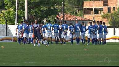 Cruzeiro treina em João Pessoa para jogo contra o Campinense pela Copa do Brasil - Jogo será iniciado as 21h45 no Estádio Amigão, em Campina Grande.
