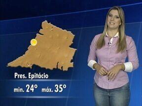 Débora Andreatto antecipa a previsão do tempo - Veja como ficam as temperaturas.