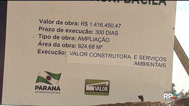 TCE manda construtora devolver dinheiro recebido para fazer obras em escolas estaduais - O Tribunal de Contas afirma que a Construtora Valor recebeu um milhão de reais a mais do que deveria na obra de uma escola estadual, em Curitiba