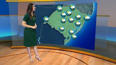 Feriado tem previsão de chuva para todo o RS - Temperaturas devem baixar.