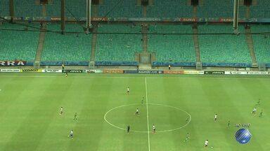Bahia e Fluminense se enfrentam na Arena Fonte Nova nesta quarta (20) - É o segundo jogo da semifinal do Campeonato Baiano.