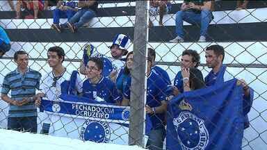 Veja o último treino do Cruzeiro para enfrentar o Campinense pela Copa do Brasil - Os jogadores receberam o carinho dos torcedores de João Pessoa.