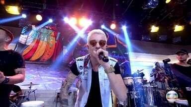 MC Gui canta no 'Encontro' - Confira!
