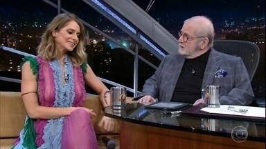Letícia Spiller fala sobre emoção de interpretar Nelson Rodrigues - A atriz também lembra os tempos de paquita e de vendedora em loja de roupas