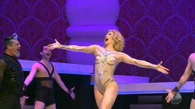 Cláudia Raia fala sobre o espetáculo 'Raia trinta, o musical' - Atriz faz musical para comemorar 30 anos de carreira; veja.
