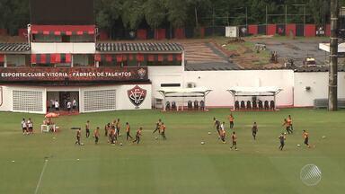 Vitória afina os últimos retoques para jogo na Copa do Brasil - Confira as notícias do rubro-negro baiano.