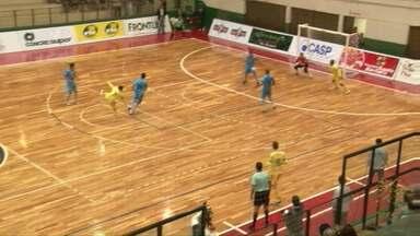 Marechal continua invicto no campeonato paranaense de futsal - O time derrotou o Foz Cataratas.