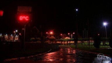Tempo frio chega em várias regiões do Brasil - Em Santa Catarina teve até temperatura negativa.