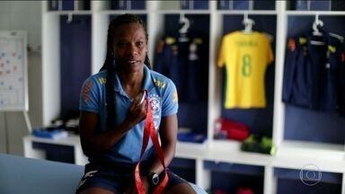 Minha Medalha: Formiga fala da conquista da medalha de prata em Pequim 2008 - Formiga da Seleção Brasileira de Futebol Feminino, conta a história de quando conquistou a medalha de prata em Pequim 2008.