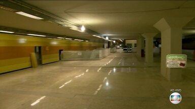 RJTV visita obras da Estação Jardim Oceânico do metrô - A estão faz parte da linha 4 do metrô.