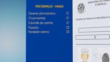 Quer emprego?: Veja as vagas para o Psicoespaço e Sine da Serra na Grande Vitória - Vagas incluem reservas para PCD.