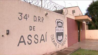 Polícia captura um dos dez presos que fugiram da cadeia de Assaí - Eles foram resgatados por uma quadrilha que invadiu a carceragem na noite de terça-feira.