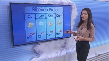 Madrugada promete temperaturas muito baixas na região de Ribeirão Preto - Em Franca (SP), termômetros marcaram 13 graus no início da noite desta quarta-feira (27).