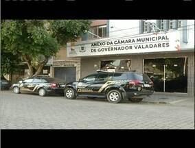 Cinco vereadores são afastados em GV durante a segunda fase da 'Mar de Lama' - Na primeira fase, 8 parlamentares já haviam sido afastados em Governador Valadares.