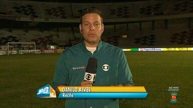 Direto do Recife, JPB mostra os detalhes para o jogo Campinense e Santa Cruz - O jogo será realizado no Estádio do Arruda e o Repórter Danilo Alves vai participar da transmissão ao vivo.