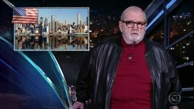 """Jô abre programa de quinta-feira com as notícias da """"boato press"""" - Ary França e Claudio Weber Abramo são os convidados da noite"""