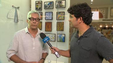 Artista plástico Leonel Mattos fala sobre o Circuito de Arte e Moda - Projeto está em cartaz até o dia 30 em Salvador