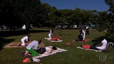 Virada Zen tem programção especial durante o fim de semana em SP - São atividades gratuitas, voltadas para a promoção (e prática) da paz social, integração com a cidade, consciência individual e coletiva, além de cuidados com a alimentação, corpo, mente e emoções.