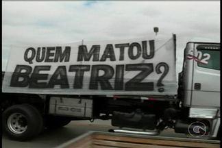 Hoje teve mais uma manifestação nas ruas pedindo solução do assassinato da menina Beatriz - O protesto saiu de Juazeiro e seguiu para Petrolina