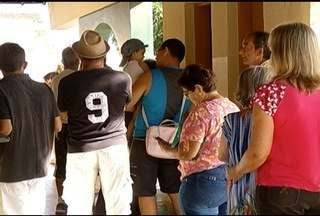 Unidades de Saúde de Montes Claros ficam cheias no 'Dia D' de vacinação contra a gripe - Campanha em Montes Claros foi antecipada.