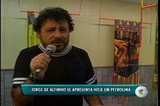 Hoje acontece em Petrolina o lançamento oficial do DVD de Flávio Leandro - E quem é presença confirmada no show é o cantor Jorge de Altinho