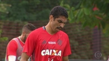 Wallace não está em boa fase no Flamengo - proximo jogo do Fla é pela Copa do Brasil.