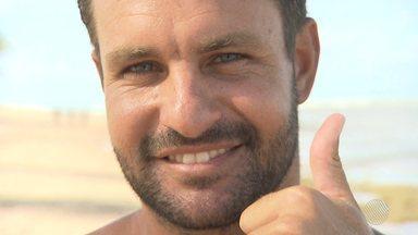 Conheça a história do surfista Bruno Galini - Bruno foi campeão baiano e já apareceu entre os cinco melhores surfistas do ranking brasileiro.