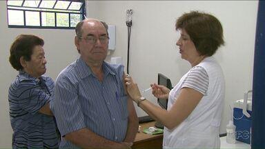 Faltou vacina no Dia D de imunização contra a gripe em Londrina - Campanha só será retomada na semana que vem.