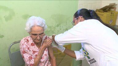 Campanha de vacinação contra gripe H1N1 começa em São Luís e outras cidades - Campanha de vacinação contra gripe H1N1 começa em São Luís.