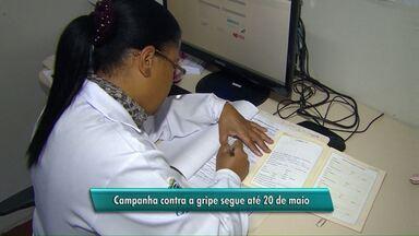 Sábado foi o dia D da campanha contra a gripe H1N1 - Em Cascavel a meta é vacinar quase 90 mil pessoas até o dia 20 de maio