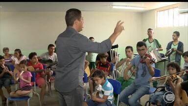 Banda Eficiente reúne crianças e adolescentes com diferentes deficiências em Teresina - Banda Eficiente reúne crianças e adolescentes com diferentes deficiências em Teresina