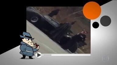 Detetive Virtual: Batman parado pela polícia? Pode isso? Descubra a verdade - Parece mentira, mas, no Canadá, há um homem que, há 14 anos, se veste como o homem-morcego e dirige um carro como o batmóvel.