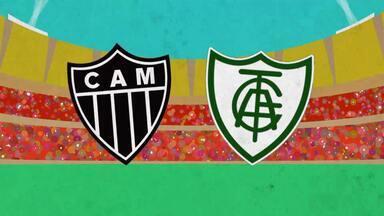 TV Globo Minas vai transmitir, domingo, a finalíssima do Campeonato Mineiro - Atlético-MG e América-MG se enfrentam no Mineirão a partir das 16h
