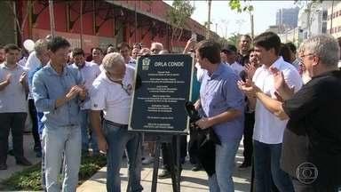 Novo trecho da Orla Conde é inaugurado na Zona Portuária - O trecho na Zona Portuária fica entre os Armazéns 1 e 6. Durante as Olimpíadas, ele irá se transformar no Boulevard Olímpico, em agosto.