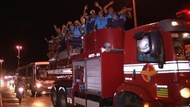 Luziânia vence o Campeonato Brasiliense e se torna bicampeão candango - Time goiano venceu o Ceilândia no Estádio Mané Garrincha no domingo (8).