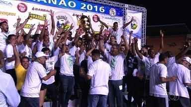 Goiás vence o Anápolis e conquista o 26º título estadual do time - Vitória esmeraldina aconteceu na ultima marcação de pênaltis, feita pelo artilheiro Rafhael Lucas.