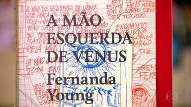 """Fernanda Young lança 11º livro da carreira - """"A mão esquerda de Vênus"""" é o segundo livro de poesias da escritora e roteirista. A obra marca também os 20 anos de carreira como escritora."""