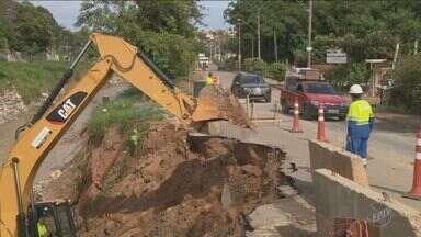Falta água em bairros de Valinhos nesta terça e quarta-feira - Ao menos 47 bairros serão afetados.