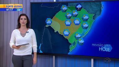 Tempo: nevoeiro atinge pontos da Região Central e Fronteira Oeste no RS - Assista ao vídeo.