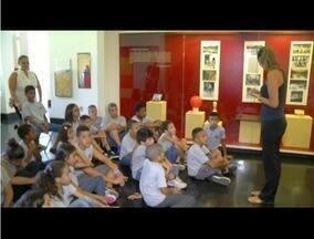 Projeto no Museu Imperial oferece atividades educativas para alunos da cidade - Neste ano, o tema é o esporte.