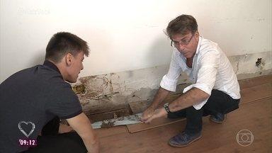 Jairo De Sender sofre com problemas de cupim em sua casa - Arquiteto conta que não esperava tanta destruição em tão pouco tempo. Cupinólogo Algo Maestrelli explica como funciona o ataque destes insetos