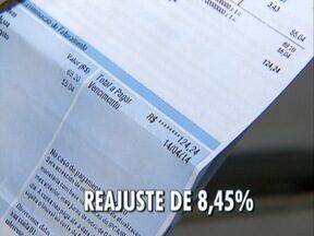 Conta de água tem aumento de 8% - Reajuste será destinados às cidades atendidas pela Sabesp.