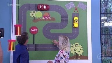 Jairo de Sender dá dicas para decorar quartos de criança - O arquiteto mostra itens divertidos utilizados na reforma do quarto do menino Enzo