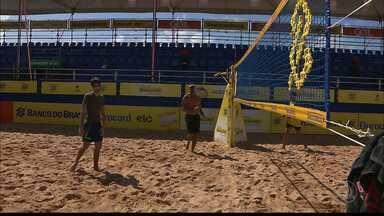 Etapa Paraibana do Circuito Brasileiro Sub-19 de Vôlei de Praia começa hoje na capital - Confira como anda os preparos dos atletas para fazer bonito no campeonato.