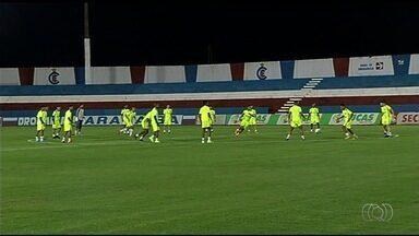Goiás conta com apoio da torcida do Itumbiara em jogo - Time goiano vai enfrentar o Londrina no Estádio JK nesta sexta-feira (20).