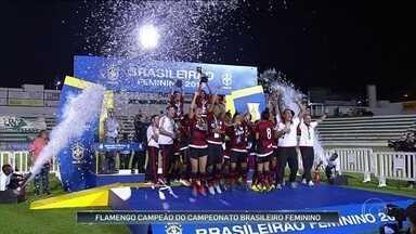 Flamengo vence Rio Preto e leva título do Campeonato Brasileiro feminino de futebol - Equipe derrotou paulistas por 2 a 1.